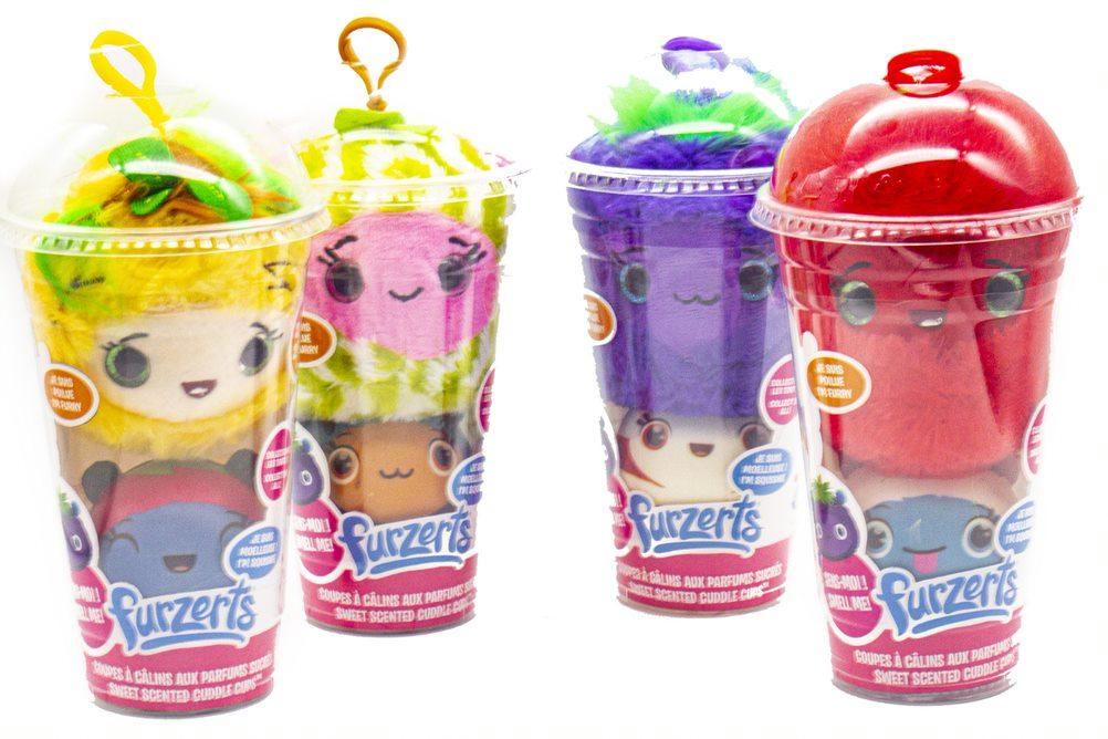 FURZERTS(R) CUDDLECUPS™ Double Scoop Scented 2 in 1