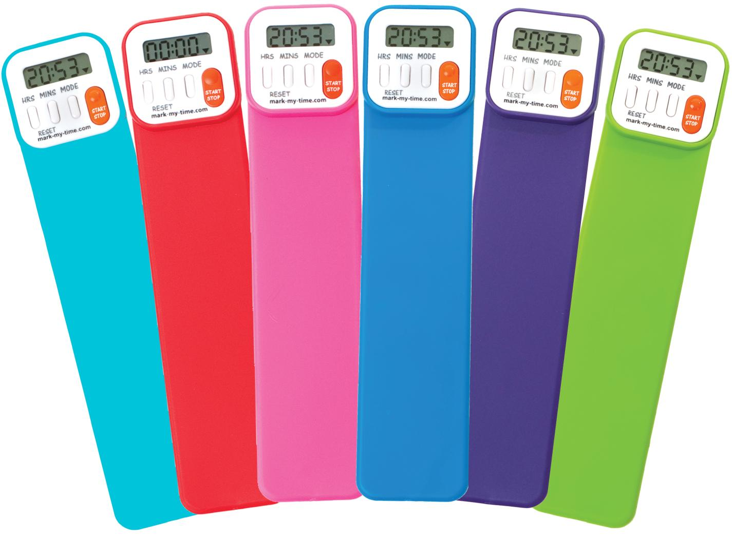 MMT Bookmark Bright Assorted w/Display (4 each)