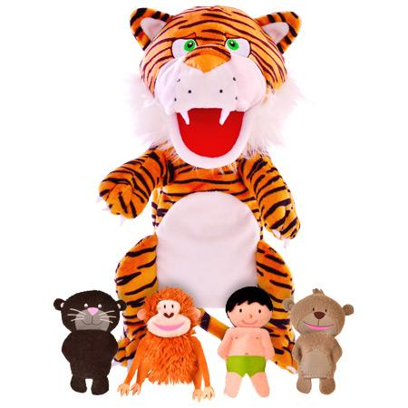 Jungle Book Hand and Finger Puppet Set