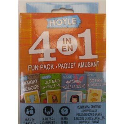 -M- Hoyle 4-in-1 Fun Pack