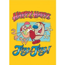 REN & STIMPY - HARD COVER JOURNAL 6X8