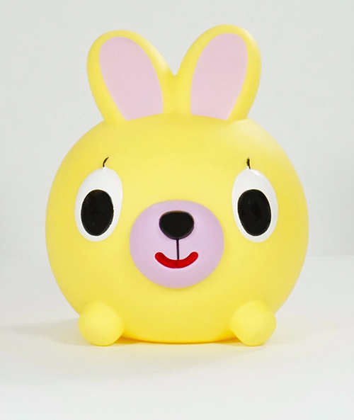 JABBER BALL BUNNY-YELLOW
